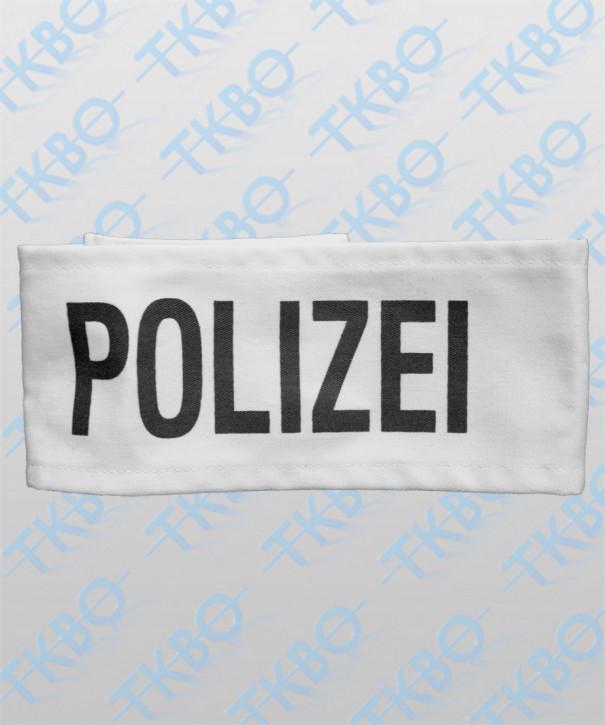 """Armbinde weiß mit Aufdruck """"POLIZEI"""""""