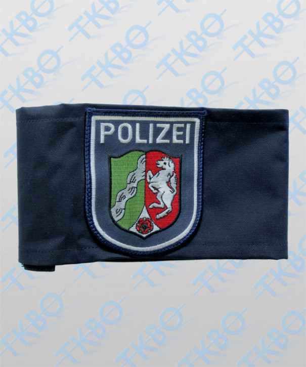 Armbinde blau mit Abzeichen NRW