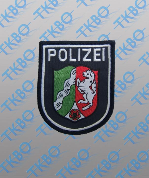Polizeiabzeichen Nordrhein Westfalen - maschinengestickt