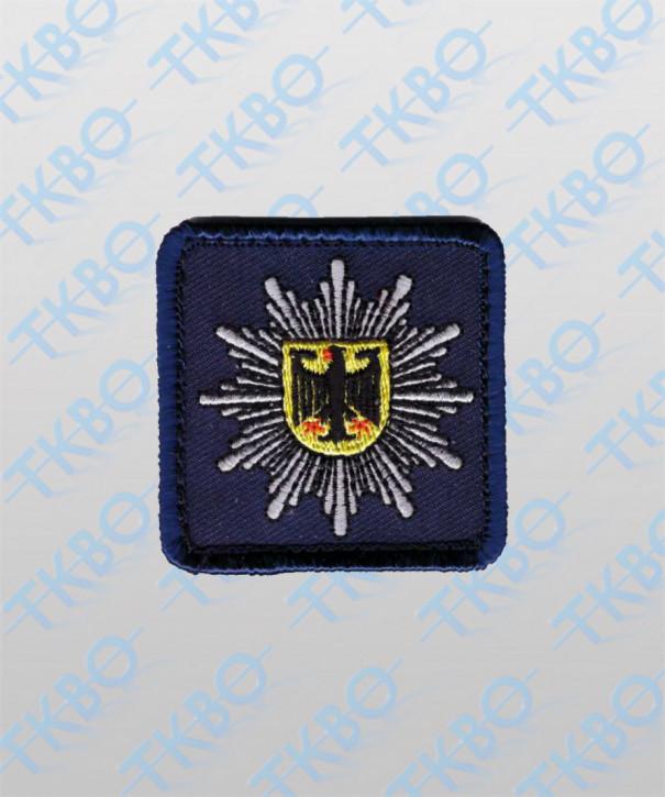 Polizeistern Bundespolizei - mit Klett