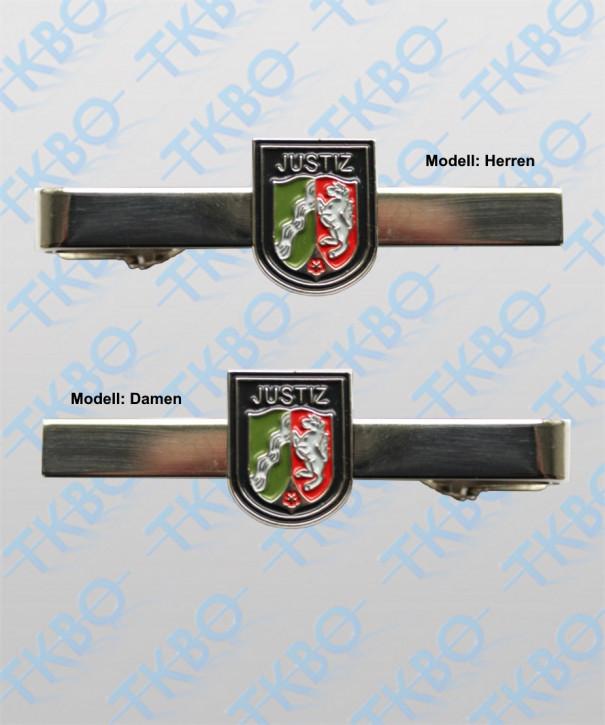 Krawattenklammer - Justiz NRW Wappen