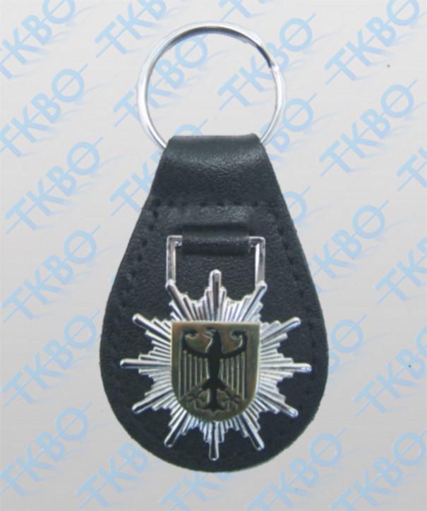 Schlüsselanhänger Stern Bundespolizei