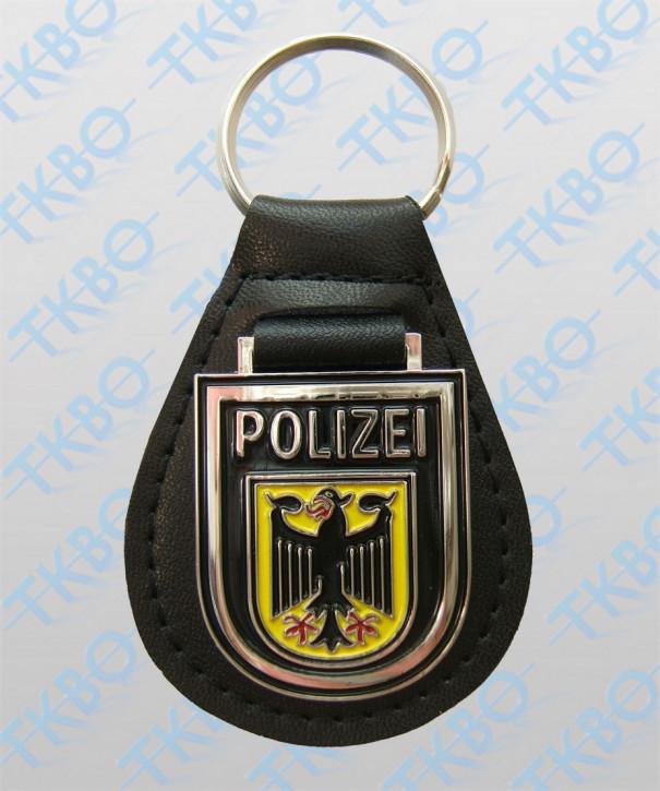 Schlüsselanhänger Wappen Bundespolizei