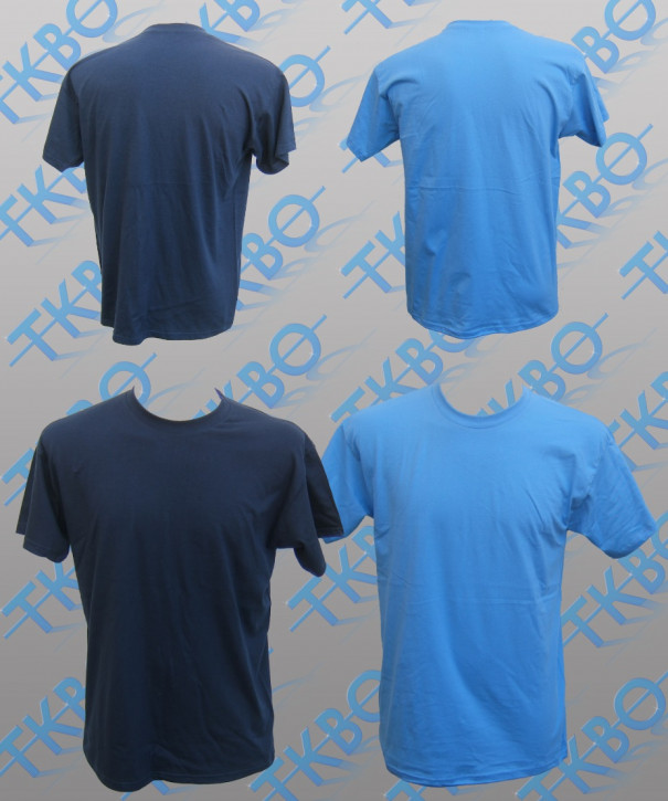 T-Shirt blanko XL / Navy