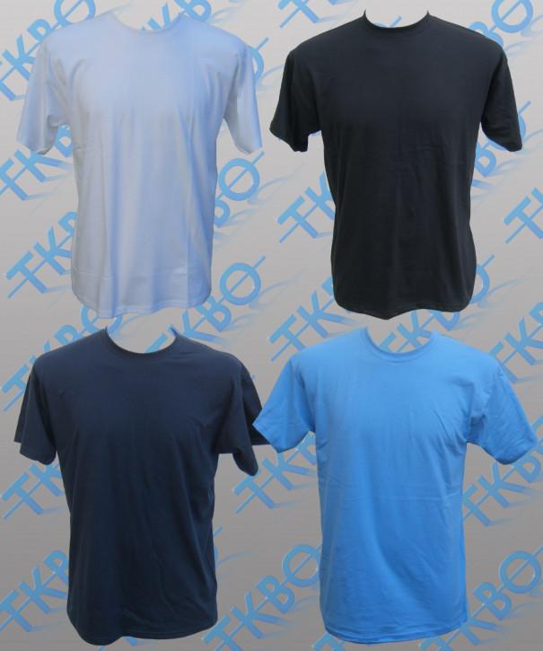 T-Shirt blanko 3XL / Schwarz