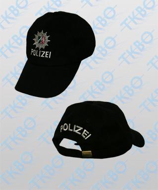 Baseball Cap Polizei NRW Schwarz