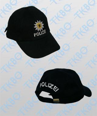 Baseball Cap Bundespolizei Schwarz