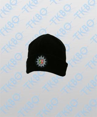 Fleece Mütze mit Abzeichen NRW