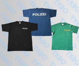 T-Shirt mit Druck XL / Blau