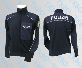 "Strickjacke ""Bundespolizei"" 50"