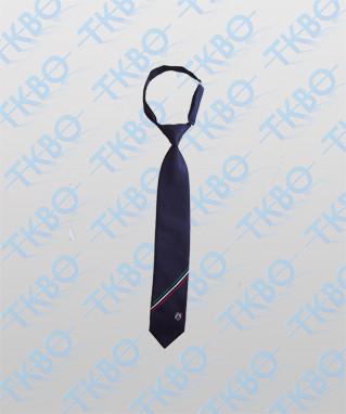Krawatte mit Sicherheitsclip kurz