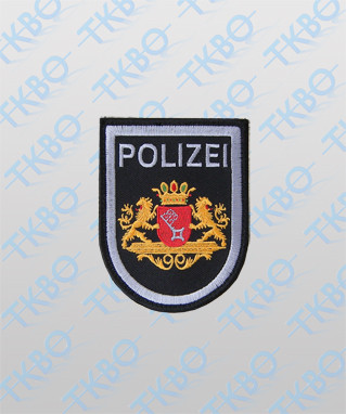 Polizeiabzeichen Bremen - groß