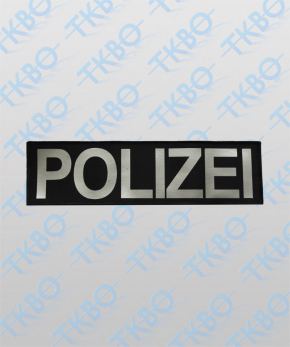 "Rückenschild ""POLIZEI"" 29 cm x 8 cm"