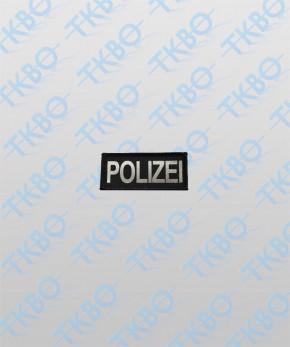 """Brustschild """"POLIZEI"""" 9 cm x 4 cm"""