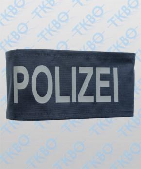 """Armbinde blau mit Aufdruck """"POLIZEI"""""""