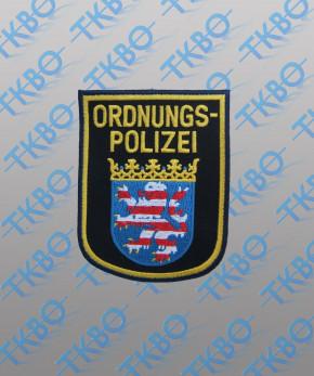 Abzeichen Ordnungspolizei Hessen