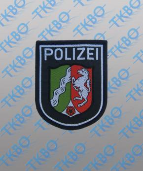 Polizeiabzeichen Nordrhein Westfalen - gewebt