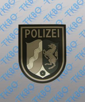 Polizeiabzeichen NRW - Rubber