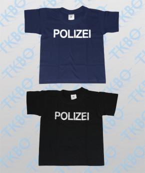 """Kinder T-Shirt mit Aufdruck """"POLIZEI"""""""