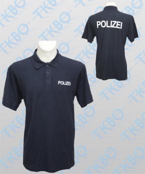 """Poloshirt mit Druck """"POLIZEI"""""""