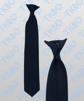 Dienstkrawatte - blau - Clipbinder
