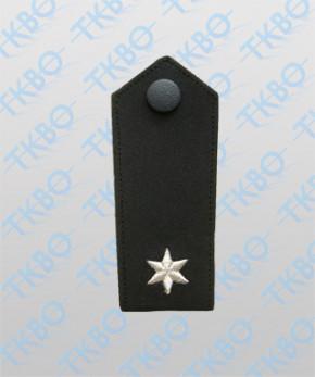 Schulterklappen mit 1 Stern silber