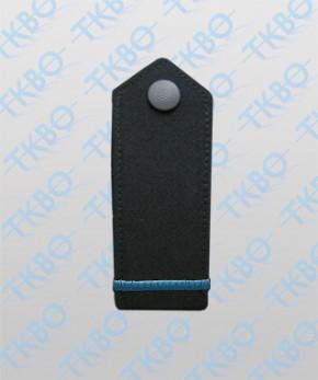 Schulterklappen blau + blauer Balken