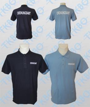 """Poloshirt mit Aufdruck """"ORDNUNGSAMT"""""""