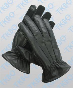 """Durchsuchungshandschuhe Leder mit Kevlar und """"Smartphone-Finger"""""""