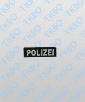 """Brustschild """"POLIZEI"""" 14 cm x 3,5 cm"""