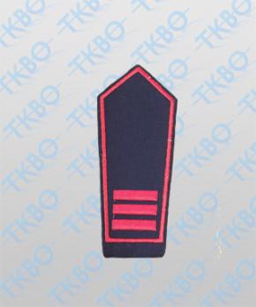 Schulterklappen Feuerwehr NRW - Hauptfeuerwehrman