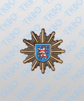 Mützenstern Polizei Thüringen