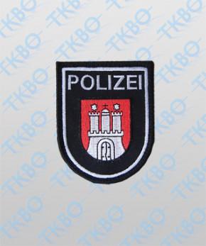 Polizeiabzeichen Hamburg - groß