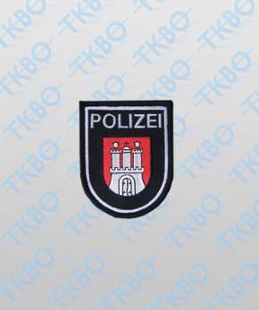 Polizeiabzeichen Hamburg - klein
