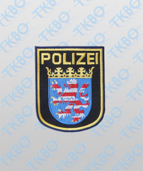 Polizeiabzeichen Hessen