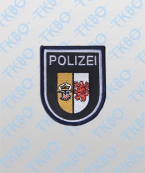 Polizeiabzeichen M.-V. - groß