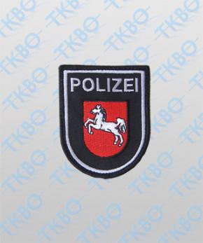 Polizeiabzeichen Niedersachsen - groß