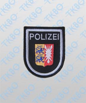 Polizeiabzeichen Schleswig Holstein - groß