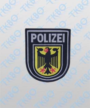 Abzeichen Bundespolizei gewebt