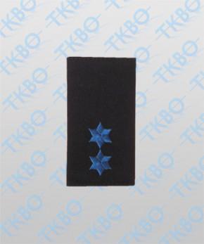 Schulterschlaufen mit 2 Sterne blau