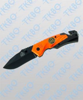 "Rettungsmesser ""PUMA TEC"" schwarz/orange"