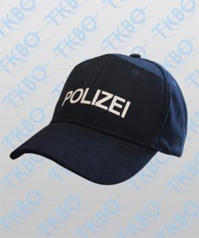 """Baseball Cap mit Druck """"Polizei"""""""