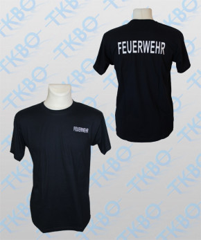 """T-Shirt mit Aufdruck """"FEUERWEHR"""""""